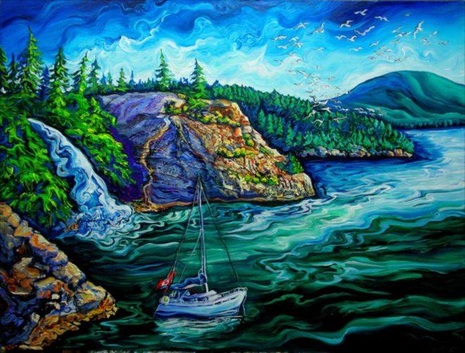 Laura Zerebeski Painting
