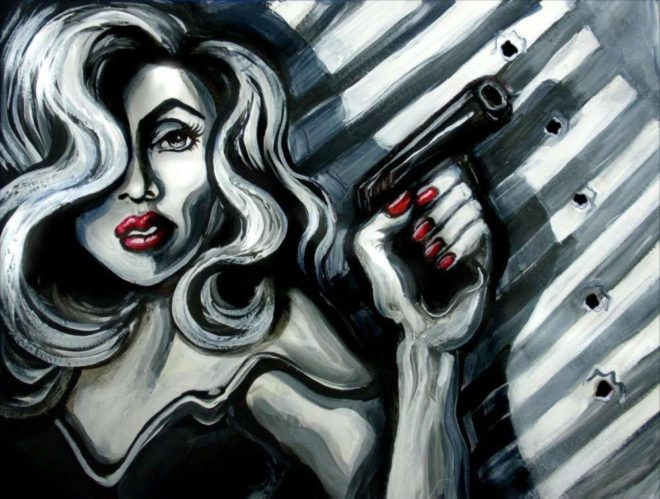 Film Noir Study - Laura Zerebeski