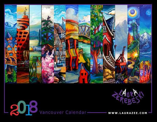 2018 Vancouver Calendar